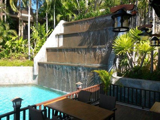 Karon Phunaka Resort and Spa: Вид из ресторана