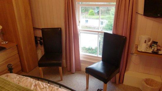 Bryn Derwen Guest House: ベッド側からの眺め