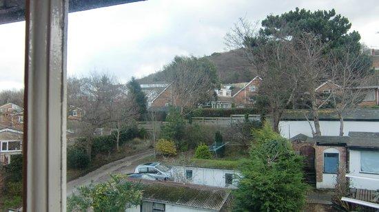 Bryn Derwen Guest House: 窓からの眺め