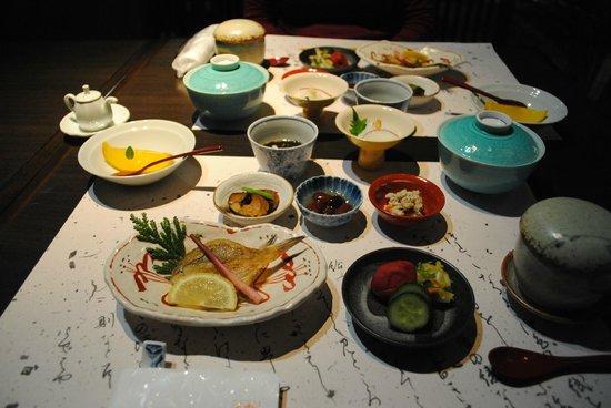 Kanazawa Chaya : Breakfast