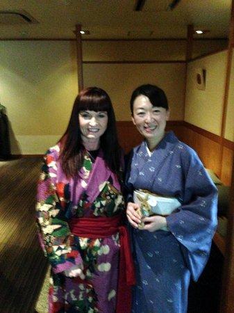 Kanazawa Chaya : Sakura one of the lovely staff