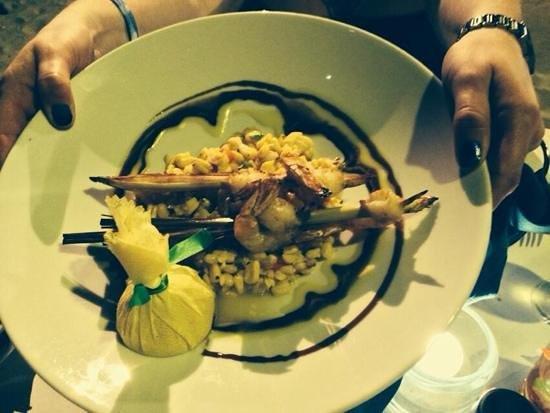 Atardi: lemon grass shrimp