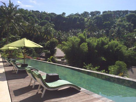 Kebun Villas & Resort: Infinity Pool