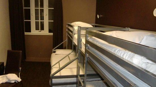 Euro Hostel Newcastle: ドミトリーを一人で使用