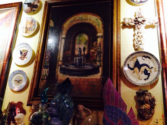 Olamendi's Mexican Restaurant: Family artwork at Olamendes Laguna Beach