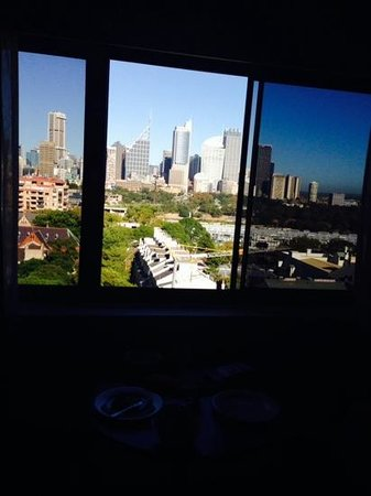 Macleay Hotel: Our city skyline view