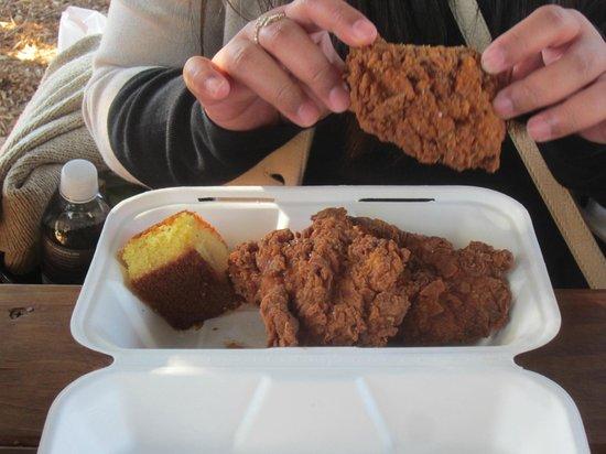 Addendum at Ad Hoc : fried chicken