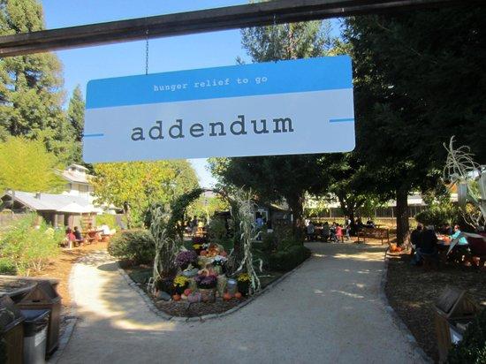 Addendum at Ad Hoc: picnic area
