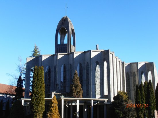 Benedictines Abbey in Mission,BC Canada