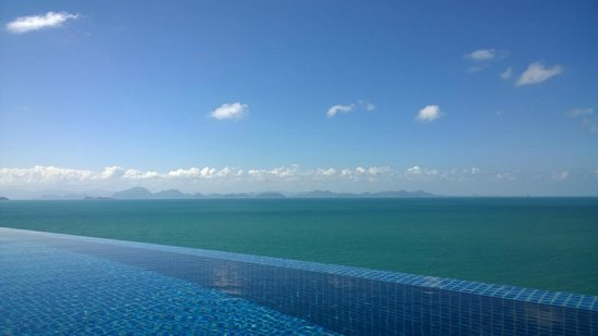 Conrad Koh Samui : View from our pool