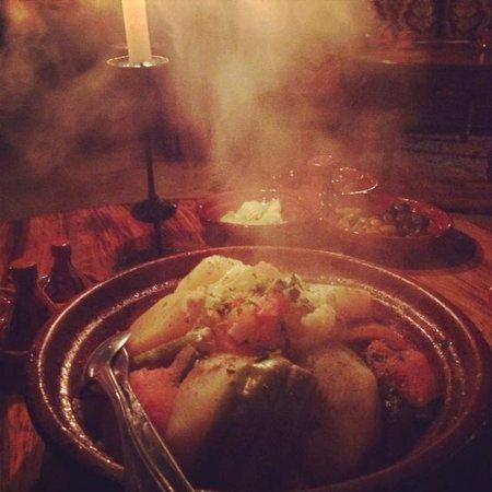 Kasbah Du Toubkal: Dinner