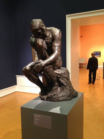 National Gallery : The Thinker by Rodin