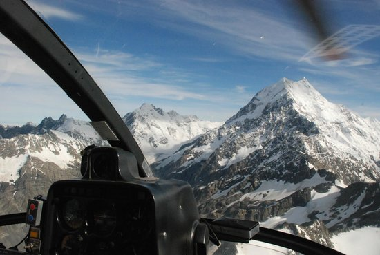 Tekapo Helicopters -  Tours : view