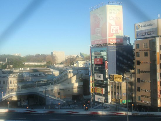 Mitsui Garden Hotel Ueno : View from room