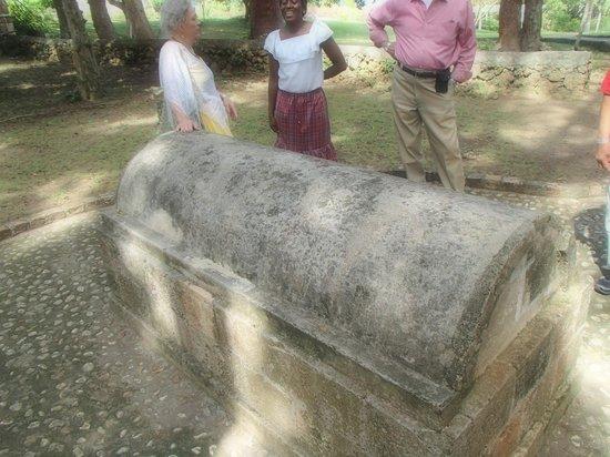 Mansión Rose Hall: Grave