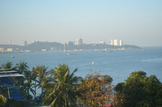 Best Bella Pattaya : View from our room