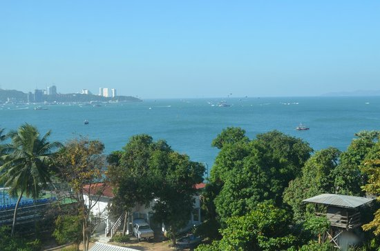 Best Bella Pattaya : Sea View from our room