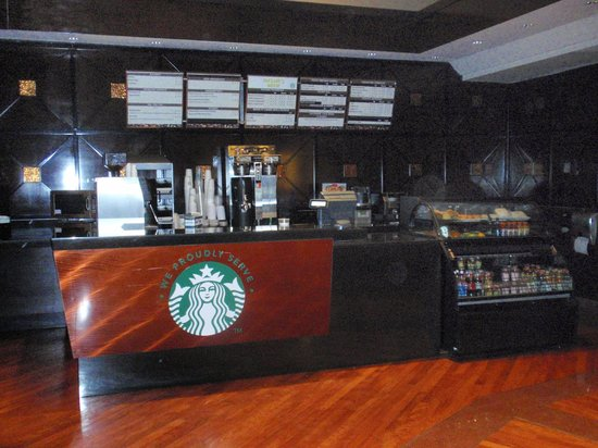Hilton Newark Airport: Starbucks