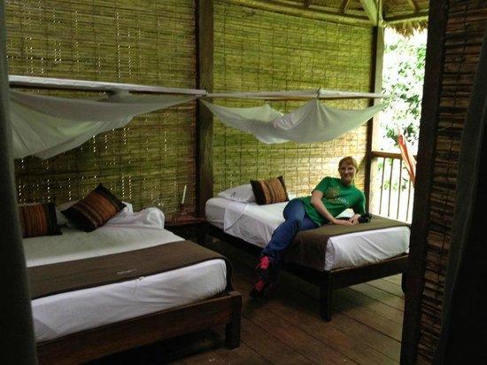 Refugio Amazonas : La habitacion