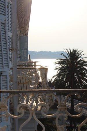 Hotel Miramare Continental Palace : Вид с балкона