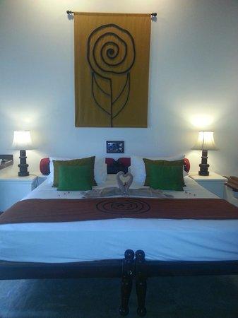 Hotel Sigiriya: le lit