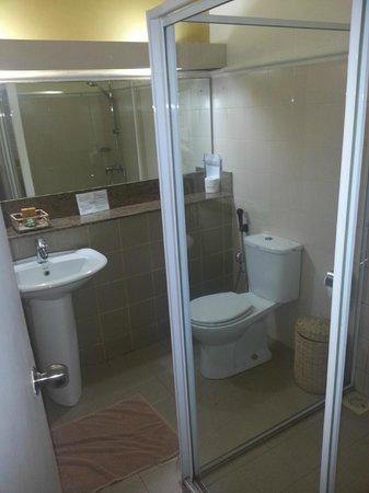 Hotel Sigiriya: salle de bain