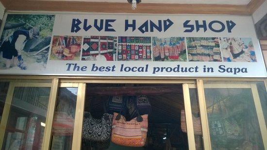 BLUE HAND SHOP