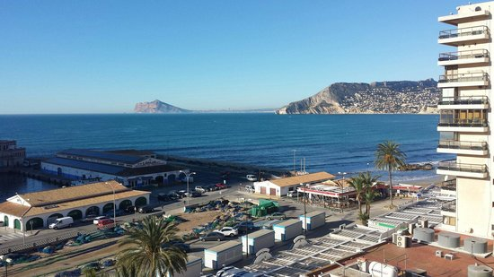 Hotel Porto Calpe: View from 5th floor.
