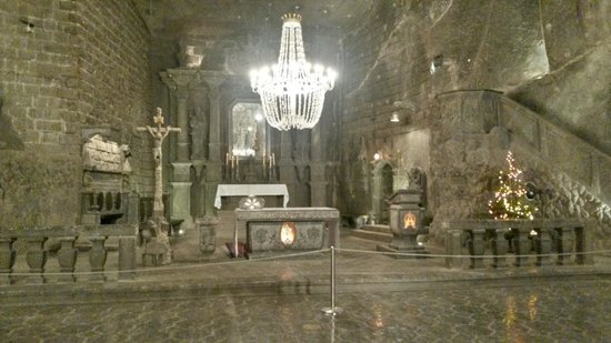 "Cracow Saltworks Museum - Salt Mine Location: Величка, соляные ""камеры"""