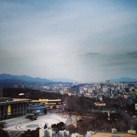 Banyan Tree Club & Spa Seoul : Heart of Seoul beautiful even in the winter
