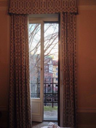 Sheraton Diana Majestic Hotel: Little balcony over looking garden