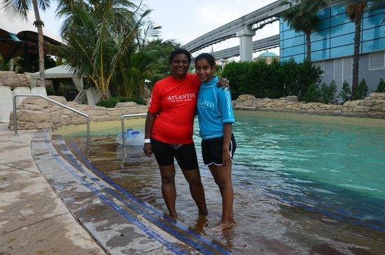 Aquaventure Waterpark: Soaking in the sun