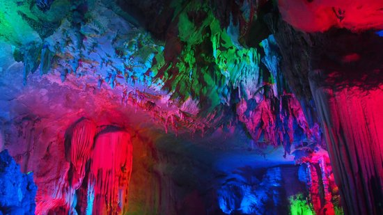 China and Vietnam Friendship Pass: cave