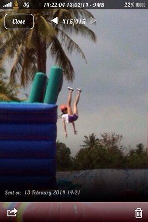Splashdown Action Park Pattaya: Big blob