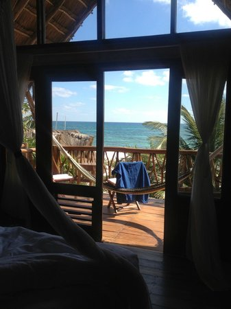 Ahau Tulum: Our room and view