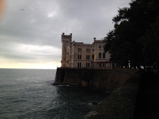 Museo Storico del Castello di Miramare: room with a view!!!!