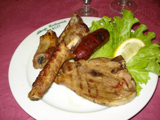 Albergo Ristorante Parco: Grigliata mista di carne