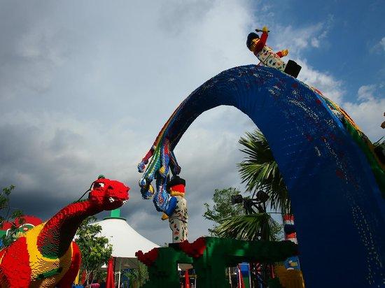 Legoland Malaysia: Monstrous