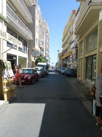 Les Palmiers Beach Hotel: Вид из номера