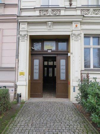 Grand Hostel Berlin : Entrance