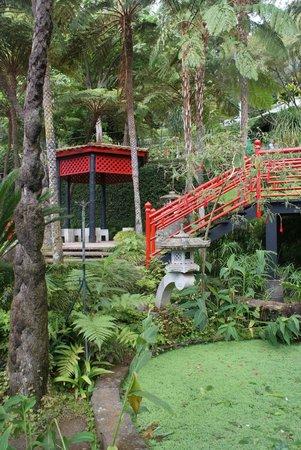Monte Palace Tropical Garden : Los jardines orientales