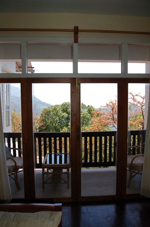 Windermere Estate: The balcony/view