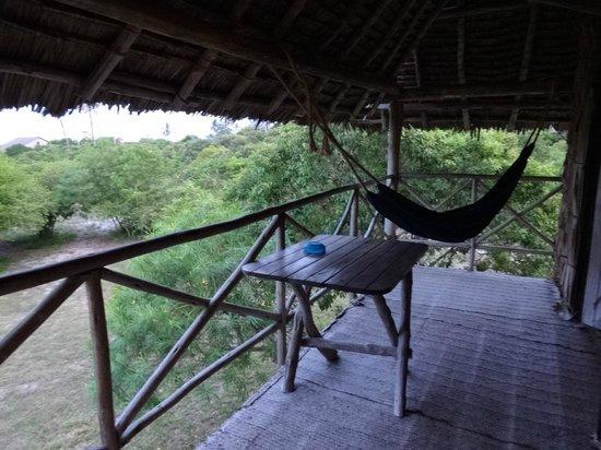 Kipepeo Beach Camp: Balcony