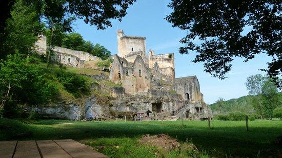 Château de Commarque : après une marche de 10/15 mn
