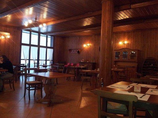 Hotel Cima del Bosco : sala da pranzo