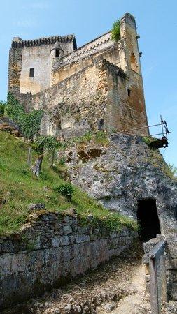 Château de Commarque : Vertige