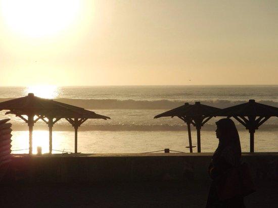 Hotel Riu Tikida Beach: Sunset in February 2014