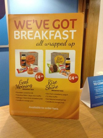 Travelodge Holyhead Hotel: Your breakfast option