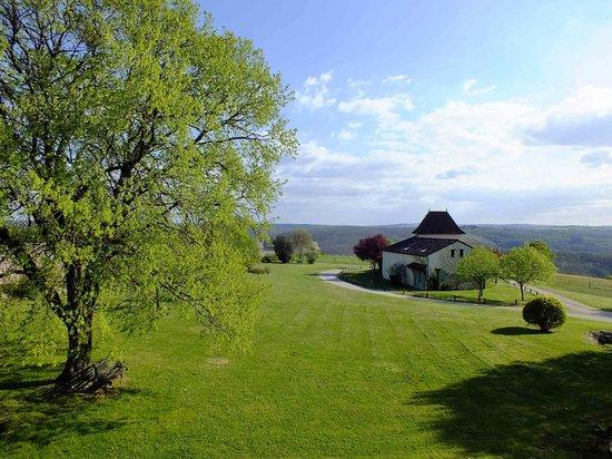 Les Vieilles Tours : Rural vista from deluxe double
