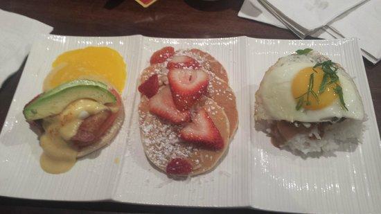 Giovanni Pastrami: Breakfast trio